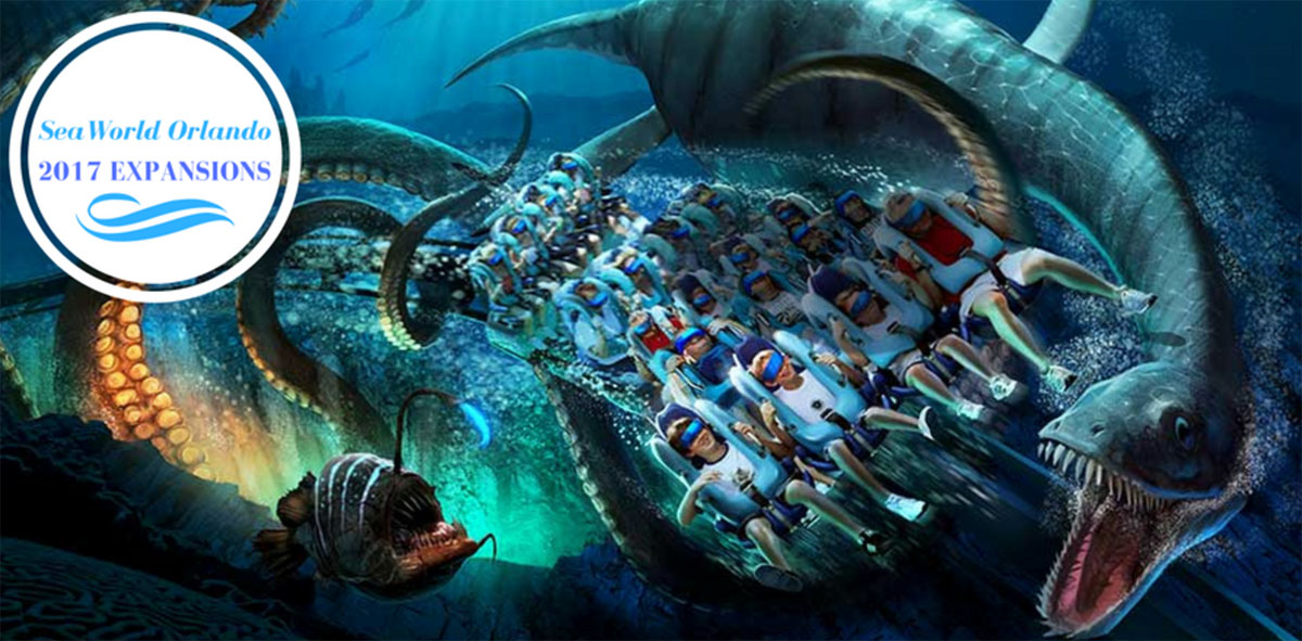 SeaWorld Orlando's Kraken Rollercoaster Offers a Virtual Reality Experience