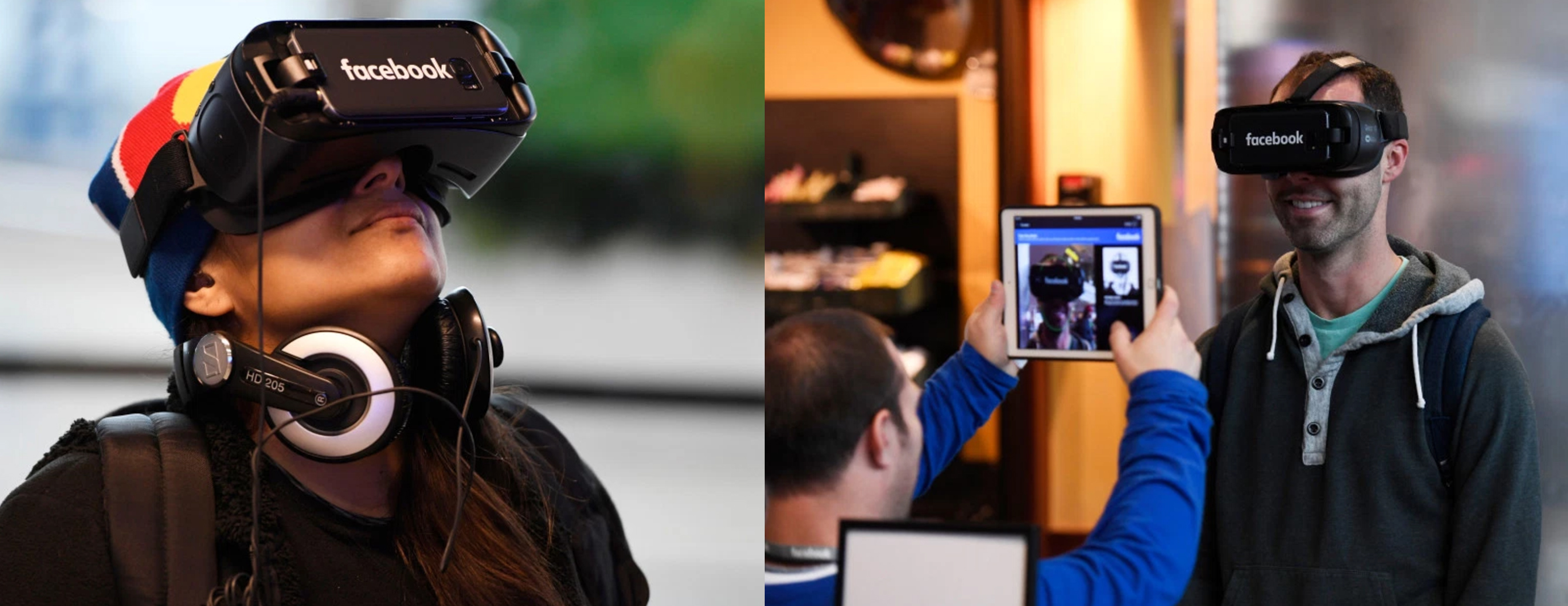 Facebook Hosts a Virtual Tour with Virtual Reality Headsets